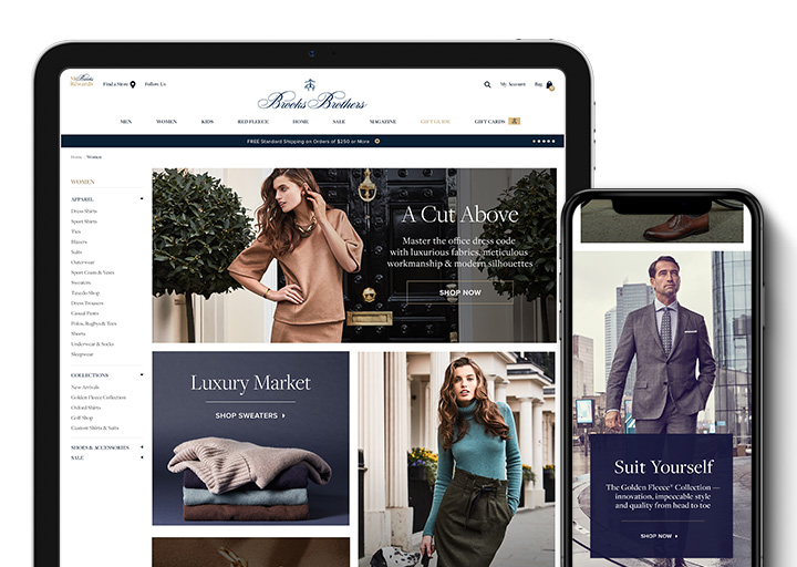 Brooks Brothers Redesign